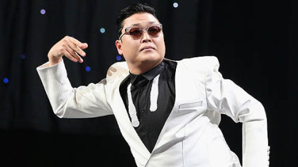 "11. South Korean rapper PSY and ""Gangnam Style"""