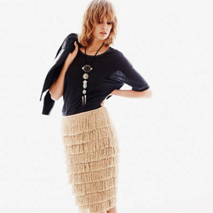 Western-inspired women's wear and footwear, as seen in this outfit from H&M, will be a trend for 2013, according to Shelley Matheys-Yugar.