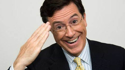 Comedian Stephen Colbert will visit contest winners at the University of Pittsburgh Jan. 18.