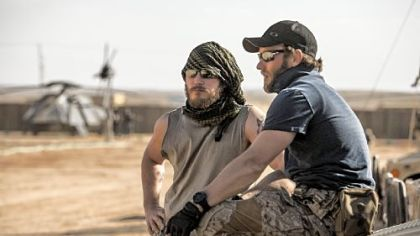 "Chris Pratt and Joel Edgerton play two of the SEAL Team Six soldiers in ""Zero Dark Thirty."""