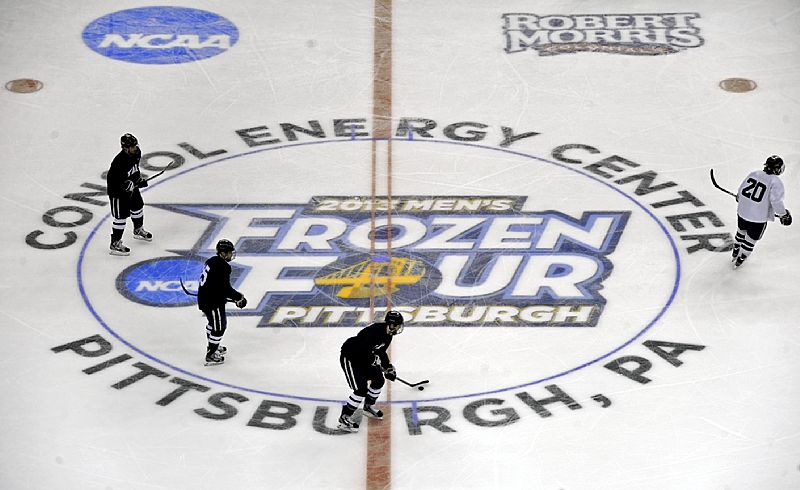 NCAA: Frozen Four In Pittsburgh Features Some Surprising Names