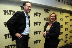 Pitt hires McConnell-Serio as women's basketball coach