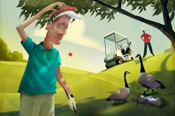 Golf 2013: On the links, integrity rules