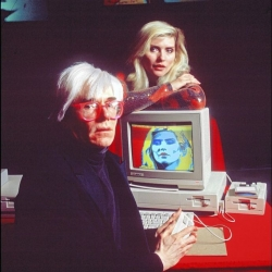 The Next Page: Andy Warhol's digital palette