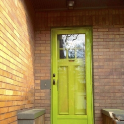 Open the door on color by painting your front door