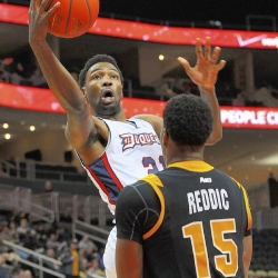 Five players to leave Duquesne; four are seeking transfers