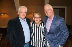 The Myasthenia Gravis Association hosts sports auction