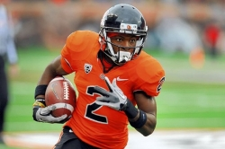 Steelers select WR Markus Wheaton in third round
