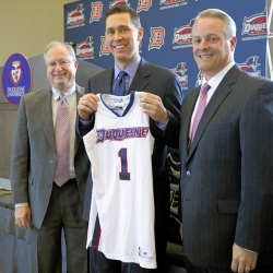 New Duquesne coach surprised to be handed the keys to program