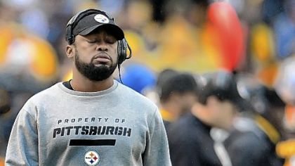 Steelers coach Mike Tomlin likely will have to deal with a new-look offensive line in 2013.