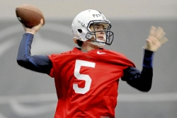 Penn State quarterback race down to two contenders