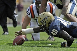 Pitt coach Chryst drops two players from team; one other suspended