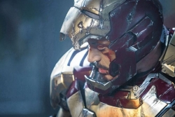 An evaluation of 'Iron Man 3' finds the superhero universe is a weird place