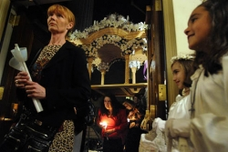 Orthodox Christians celebrate Easter with processions