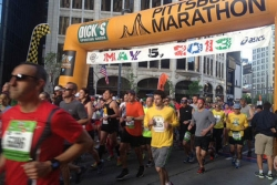 Kirwa repeats as men's Pittsburgh Marathon winner; Akor wins women's race