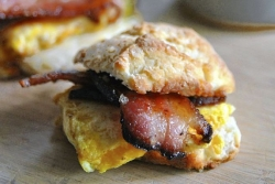 What's for Dinner: Angel Biscuits with Cheesy Eggs and Bacon