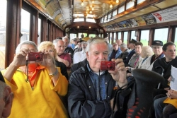 Cincinnati streetcar rolls out at Pennsylvania Trolley Museum