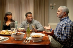 Movie review: Tyler Perry's 'Peeples' just a banal rom-com