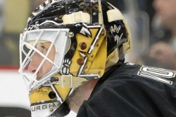 Vokoun in net tonight for Penguins