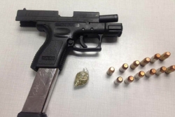 15-year-old charged with carrying stolen handgun
