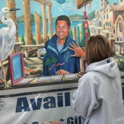 Pittsburgh Runner immortalized in Penn State mural