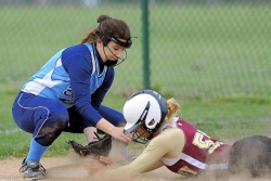 High School Softball: Peters gains win in grand fashion