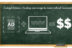 School websites the latest venue for advertisements as districts seek revenue sources