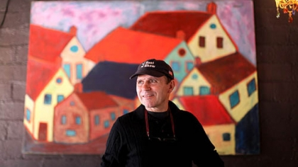 Cafe Zinho owner and chef Toni Pais stands inside the Shadyside restaurant on a recent afternoon.