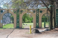 Going... going... gone: Forbes Field arches come down