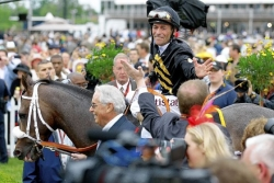 Oxbow golden for trainer Lukas at 138th Preakness Stakes