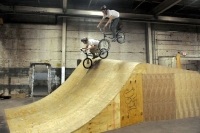 Wheel Mill: One man's vision turns Homewood warehouse into indoor bike park