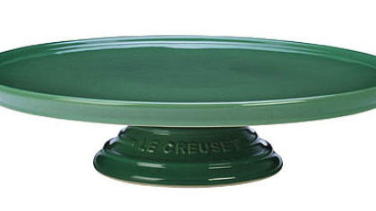 Le Creuset cake stand. 