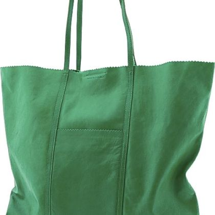 Paige pinking shears tote, $130 at Banana Republic.