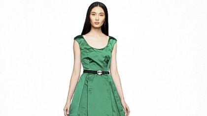 Satin Dabney dress by Ralph Lauren Black Label, on sale for $764.25 at www.ralphlauren.com.