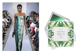 Stylebook: Oscar de la Renta translates his fashions into a stationery line