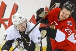 Penguins Notebook: Neil hits back at Orpik, sort of