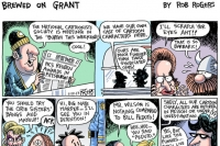 Brewed On Grant: Cartoon Pittsburgh