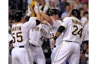 Snider's grand slam lifts Pirates to 5-4 victory over Cubs