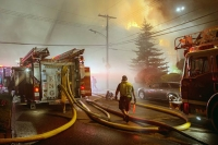 Cause of Bellevue blaze that injured firefighters under investigation