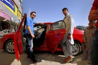 Wrecked cars are revived in Afghanistan