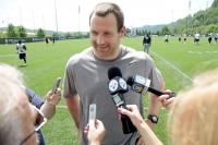 Tight end Heath Miller has no answer for when he will play again