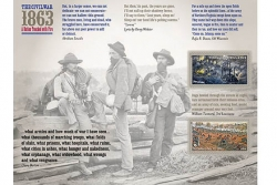 A Postal Service event in Gettysburg features descendant of rebels in stamp photo