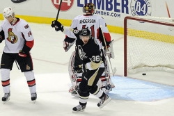 Penguins advance to conference finals with 6-2 censure of Senators