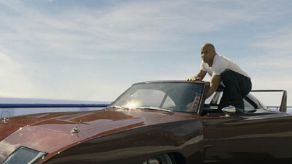 "Vin Diesel as Dom in ""Fast & Furious 6."""
