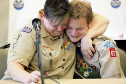 Boy Scouts of America vote to admit gay youths