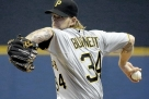 Brewers' Estrada outduels Pirates' Burnett again, 2-1