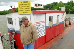 Officials vote to shut down ferry crossing Mon River