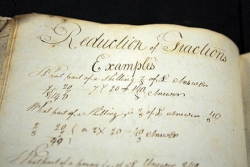 Pitt buys notebook of student Larwill from early 1800s