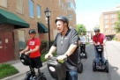 Segways for wounded veterans: A gift that gets around