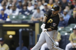 Pirates win series with 5-4 defeat of Brewers